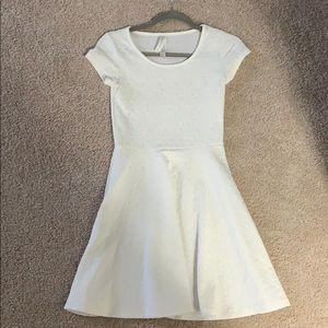 A cute, stylish white dress